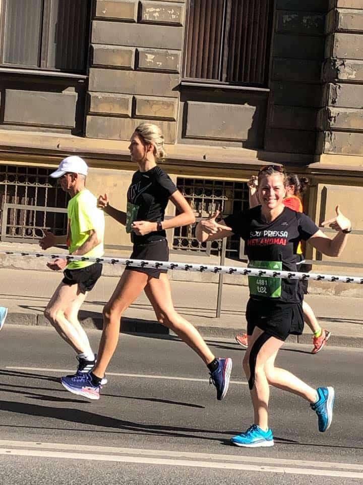 Keisija Kinga Rīgas maratonā. Melanomas pacientu atbalsta biedriba